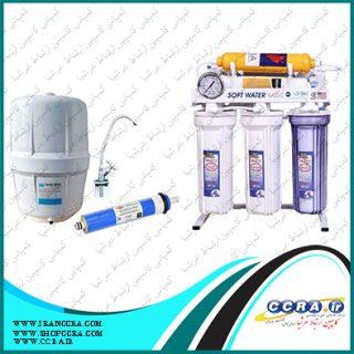 مدت زمات تولید آب تصفیه شده از دستگاه های تصفیه آب خانگی سافت واتر