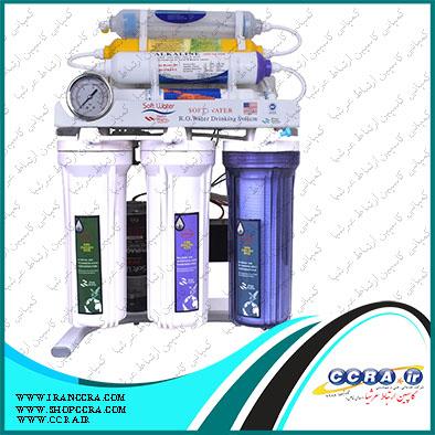 دستگاه تصفیه آب خانگی سافت واتر SOFT WATER مدلRO8-OX