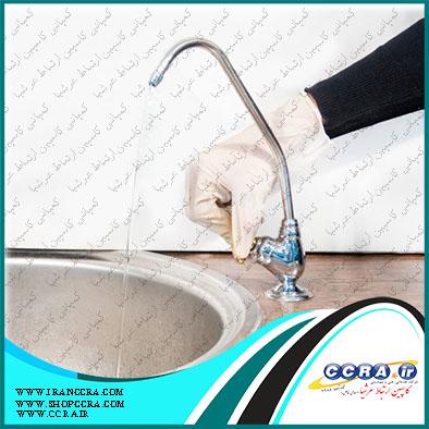 عایق بندی شیر برداشت دستگاه های تصفیه آب خانگی سافت واتر به چه شکل است ؟