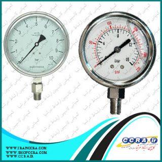 فروش گیج فشار روغنی برای دستگاه های تصفیه آب خانگی سافت واتر