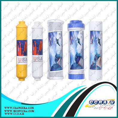 انواع فیلترهای قابل استفاده در دستگاه تصفیه آب خانگی سافت واتر