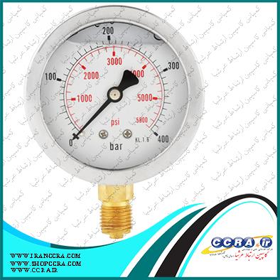 عدد نرمال گیج فشار در دستگاه تصفیه آب خانگی سافت واتر