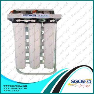 دستگاه تصفیه آب نیمه صنعتی 300 گالن سافت واتر
